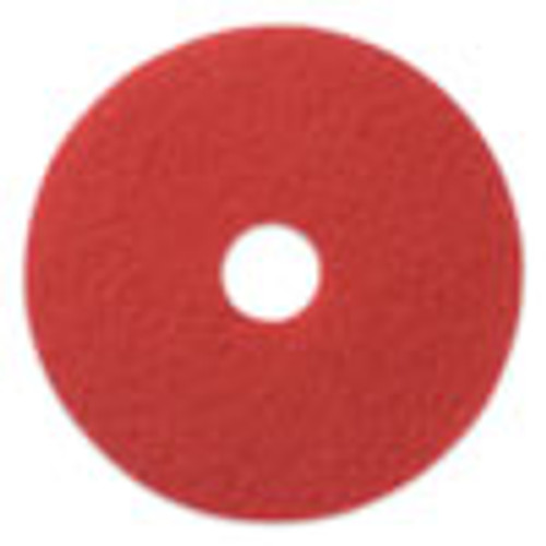Americo Buffing Pads  19  Diameter  Red  5 CT (AMF404419)
