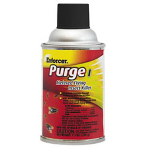 Enforcer Purge I Metered Flying Insect Killer  7 3 oz Aerosol  Unscented  12 Carton (AMREPMFIK7)