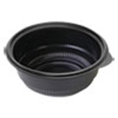 Anchor Packaging MicroRaves Incredi-Bowl Base  16 oz  6  dia x 1 75 h  Black  250 Carton (ANZ4115820)