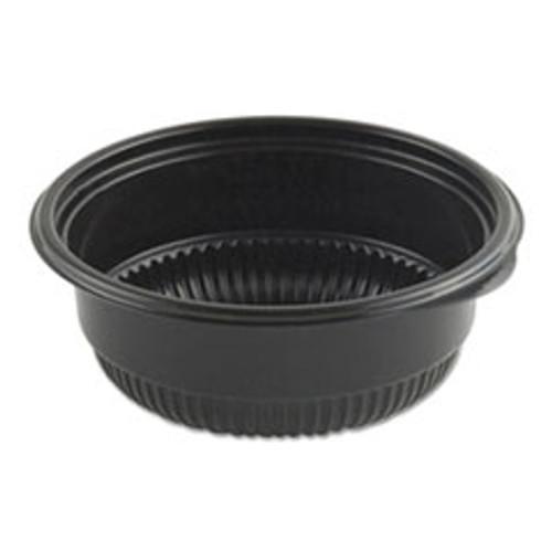 Anchor Packaging MicroRaves Incredi-Bowl Base  8 oz  4 75  dia x 1 75 h  Black  500 Carton (ANZ4604804)