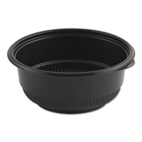 Anchor Packaging MicroRaves Incredi-Bowl Base  16 oz  5 75  dia x 2 43 h  Black  250 Carton (ANZ4605821)