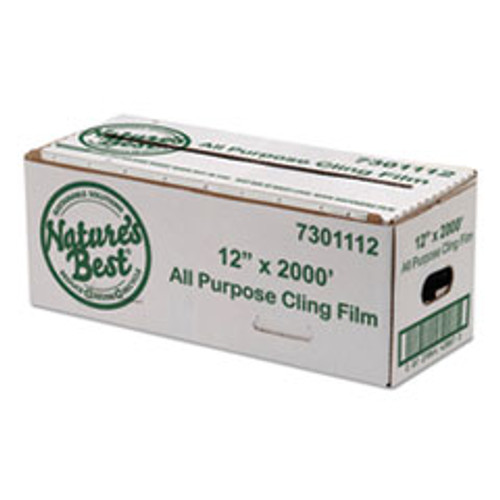 Anchor Packaging Film  12  x 2 000 ft  Blue Tinted (ANZ7301112)