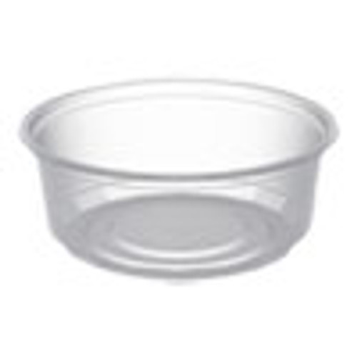 Anchor Packaging MicroLite Deli Tub  8 oz  Clear  500 Carton (ANZD08CR)