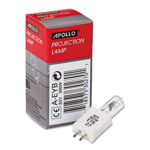 Apollo 360 Watt Overhead Projector Lamp  82 Volt  2-Pin  Ceramic Base (APOAEYB)