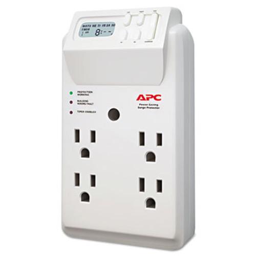 APC SurgeArrest Surge Protector  4 Outlets  1020 Joules  White (APWP4GC)