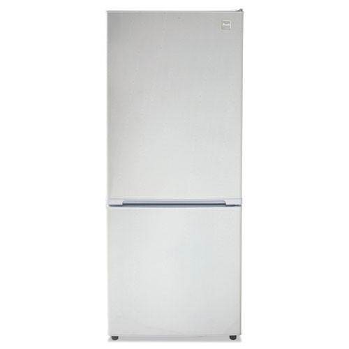 Avanti Bottom Mounted Frost-Free Freezer Refrigerator  10 2 Cubic Feet  White (AVAFFBM92H0W)