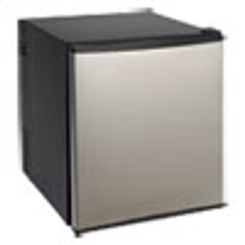 Avanti 1 7 Cu Ft Superconductor Compact Refrigerator  Black Stainless Steel (AVASAR1702N3S)