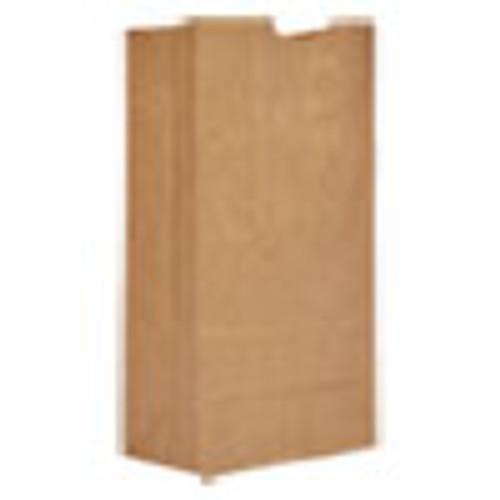 General Grocery Paper Bags  20 lbs Capacity   20  8 25 w x 5 94 d x 16 13 h  Kraft  500 Bags (BAGGK20500)