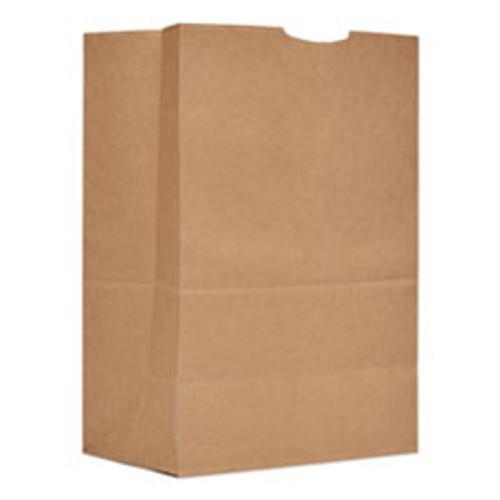 General Grocery Paper Bags  52 lbs Capacity  1 6 BBL  12 w x 7 d x 17 h  Kraft  500 Bags (BAGSK1652)