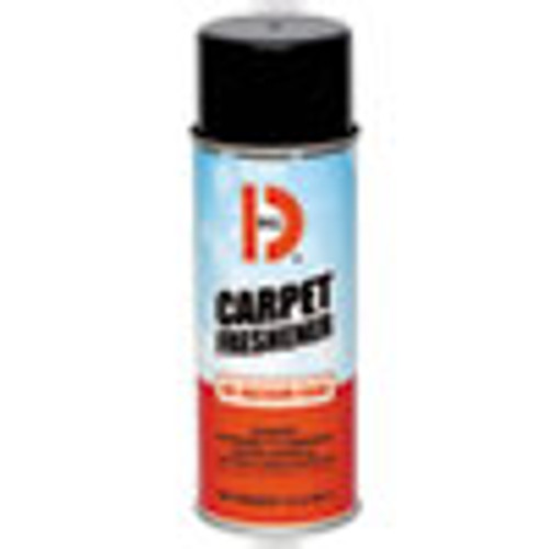 Big D Industries No-Vacuum Carpet Freshener  Fresh Scent  14 oz Aerosol  12 Carton (BGD241)