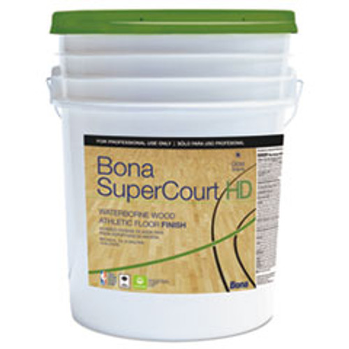 Bona SuperCourt HD Floor Finish  5 gal (BNAWT762055008)