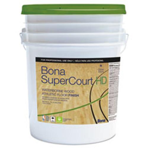 Bona SuperCourt HD Floor Finish  5 gal (BNAWT762055008)