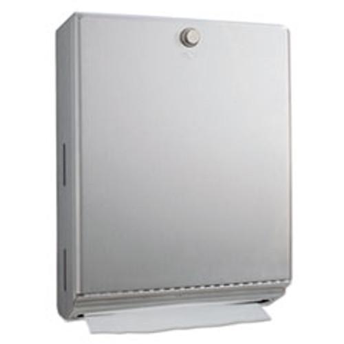 Bobrick ClassicSeries Surface-Mounted Paper Towel Dispenser  10 13 16 x3 15 16 x14 1 16  (BOB2620)