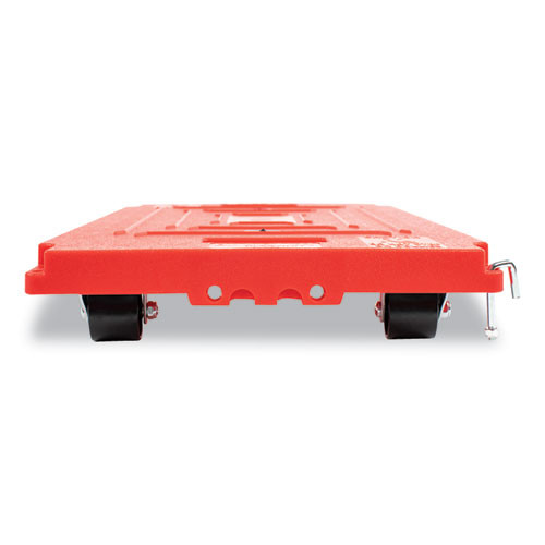 Bostitch Mule Dollies  500 lb Capacity  13 75  x 19  x 5   Red  2 Pack (BOSBMULELG2P)