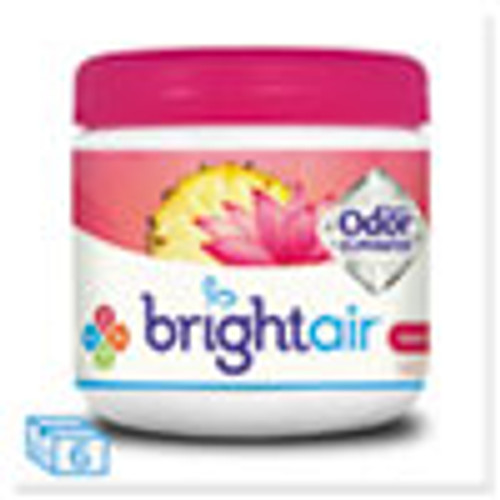 BRIGHT Air Super Odor Eliminator  Island Nectar and Pineapple  Pink  14 oz  6 Carton (BRI900114CT)