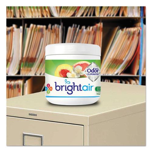 BRIGHT Air Super Odor Eliminator  White Peach and Citrus  14 oz  6 Carton (BRI900133CT)