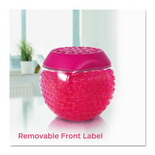 BRIGHT Air Scent Gems Odor Eliminator  Island Nectar and Pineapple  Pink  10 oz  6 Carton (BRI900229CT)