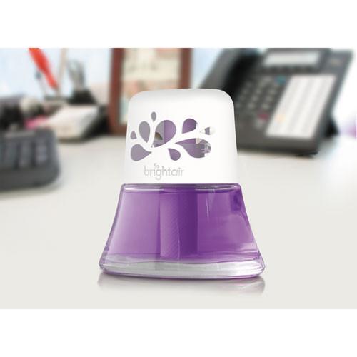 BRIGHT Air Scented Oil Air Freshener Sweet Lavender and Violet  2 5 oz  6 Carton (BRI900288CT)