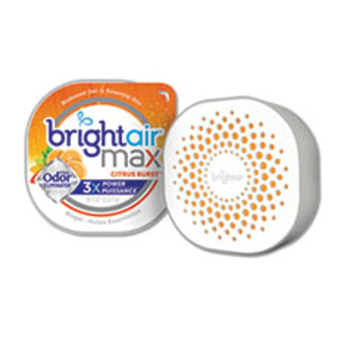 BRIGHT Air Max Odor Eliminator Air Freshener  Citrus Burst  8 oz (BRI900436EA)