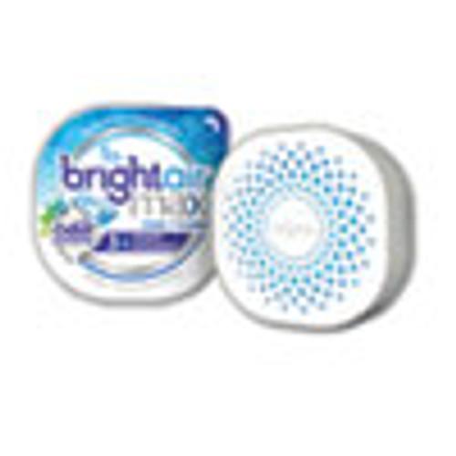 BRIGHT Air Max Odor Eliminator Air Freshener  Cool and Clean  8 oz  6 Carton (BRI900437)