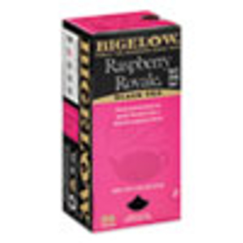 Bigelow Raspberry Black Tea  Raspberry  0 34 lbs  28 Box (BTC003401)