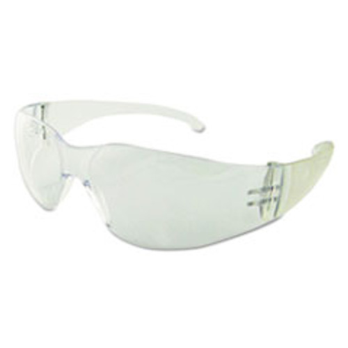 Boardwalk Safety Glasses  Clear Frame Clear Lens  Polycarbonate  Dozen (BWK00021)