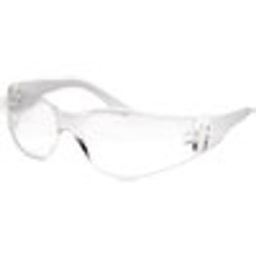 Boardwalk Safety Glasses  Clear Frame Clear Lens  Anti-Fog  Polycarbonate  Dozen (BWK00022)