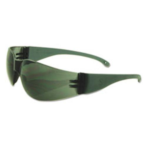 Boardwalk Safety Glasses  Gray Frame Gray Lens  Polycarbonate  Dozen (BWK00023)