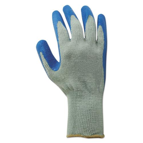 Boardwalk Rubber Palm Gloves  Gray Blue  Large  1 Dozen (BWK00027L)