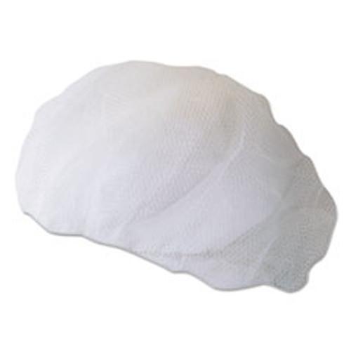 Boardwalk Disposable Hairnets  Nylon  Large  White  100 Pack (BWK00030)