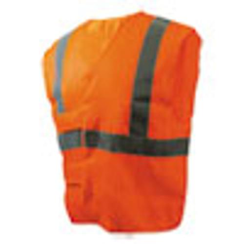 Boardwalk Class 2 Safety Vests  Orange Silver  Standard (BWK00035)