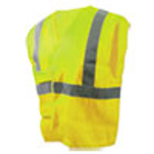 Boardwalk Class 2 Safety Vests  Lime Green Silver  Standard (BWK00036)