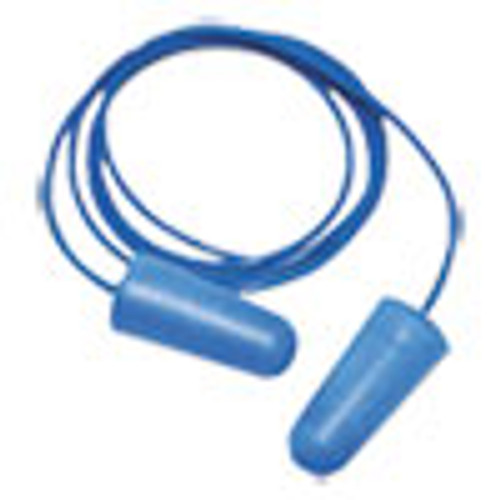 Boardwalk Detectable Earplugs  Corded  Blue  200 Pairs (BWK00038)