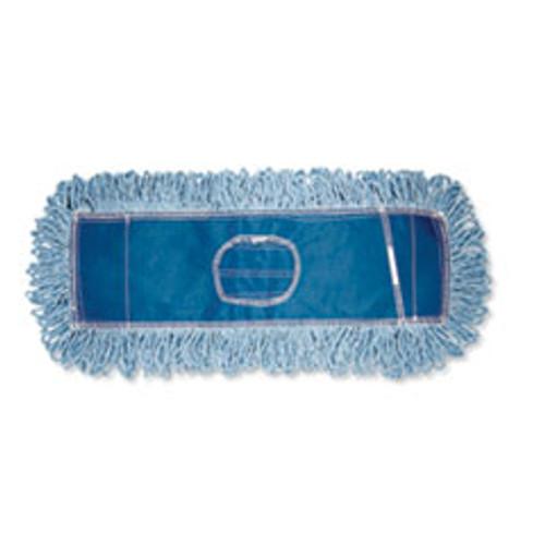 Boardwalk Dust Mop Head  Cotton Synthetic Blend  48  x 5   Blue (BWK1148)