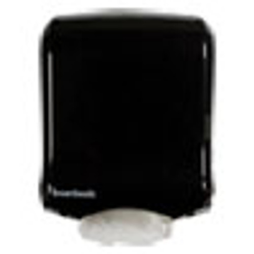 Boardwalk Ultrafold Multifold C-Fold Towel Dispenser  11 75 x 6 25 x 18  Black Pearl (BWK1500)