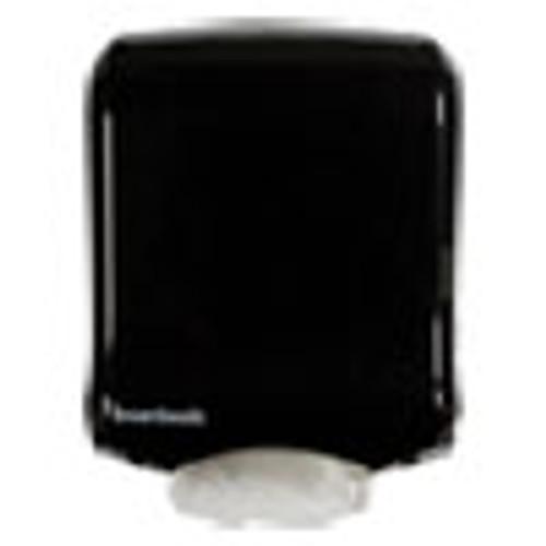 Boardwalk Ultrafold Multifold C-Fold Towel Dispenser  11 75 x 6 25 x 18  Black Pearl (BWK1500)