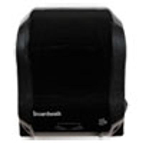 Boardwalk Hands Free Mechanical Towel Dispenser  13 1 4  x 16 1 4  x 10 1 4   Black (BWK1501)