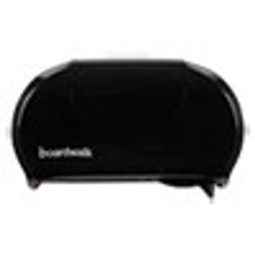 Boardwalk Standard Twin Toilet Tissue Dispenser  13 x 8 3 4  Black (BWK1502)