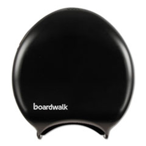 Boardwalk Single Jumbo Toilet Tissue Dispenser  11 x 12 1 4  Black (BWK1519)