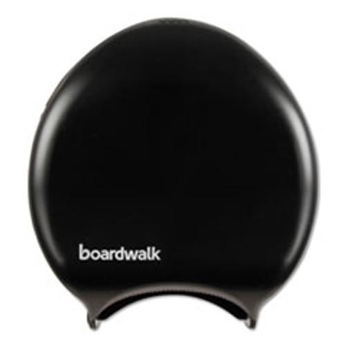 Boardwalk Single Jumbo Toilet Tissue Dispenser  11 x 12 1 4  Black (BWK1519)