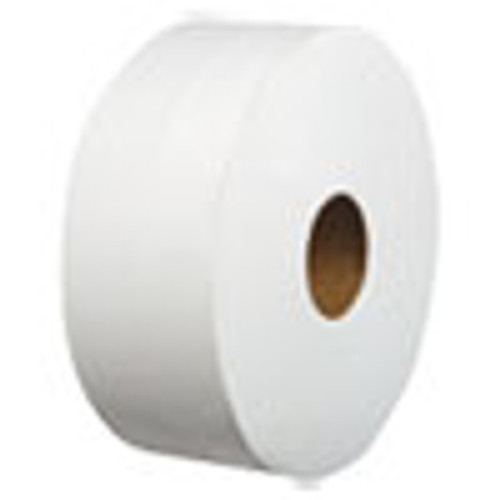 Boardwalk Laminated Jumbo Roll Toilet Tissue  Septic Safe  2-Ply  White  3 2  x 700 ft  12 Carton (BWK410979)