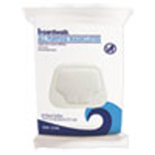 Boardwalk Premoistened Washcloths  12 1 2 x 7 9 10  Fresh Scent  48 Pack  6 Packs Carton (BWK459W)