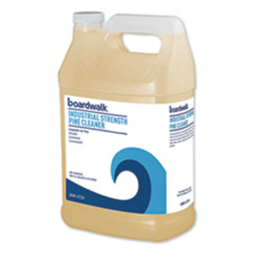 Boardwalk Industrial Strength Pine Cleaner  1 Gallon Bottle  4 Carton (BWK4734)