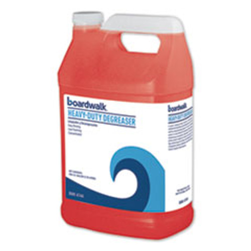 Boardwalk Heavy-Duty Degreaser  1 Gallon Bottle  4 Carton (BWK4744)