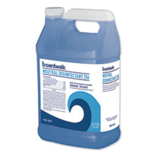 Boardwalk Neutral Disinfectant  Floral Scent  1 gal Bottle  4 Carton (BWK4800)