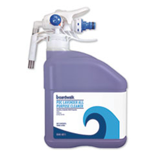 Boardwalk PDC All Purpose Cleaner  Lavender Scent  3 Liter Bottle (BWK4811EA)