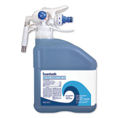 Boardwalk PDC Neutral Disinfectant  Floral Scent  3 Liter Bottle  2 Carton (BWK4815)