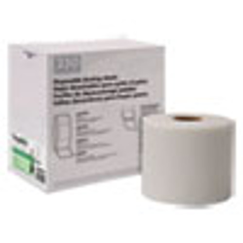 Boardwalk TrapEze Disposable Dusting Sheets  8  x 125 ft  White  250 Sheets Roll  (BWK582508)