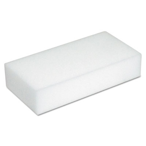 Boardwalk Disposable Eraser Pads  White  Foam  2 2 5 x 4 3 5  100 Carton (BWK600100)