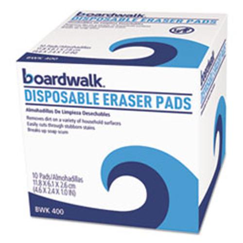 Boardwalk Disposable Eraser Pads  10 Box (BWK600BX)
